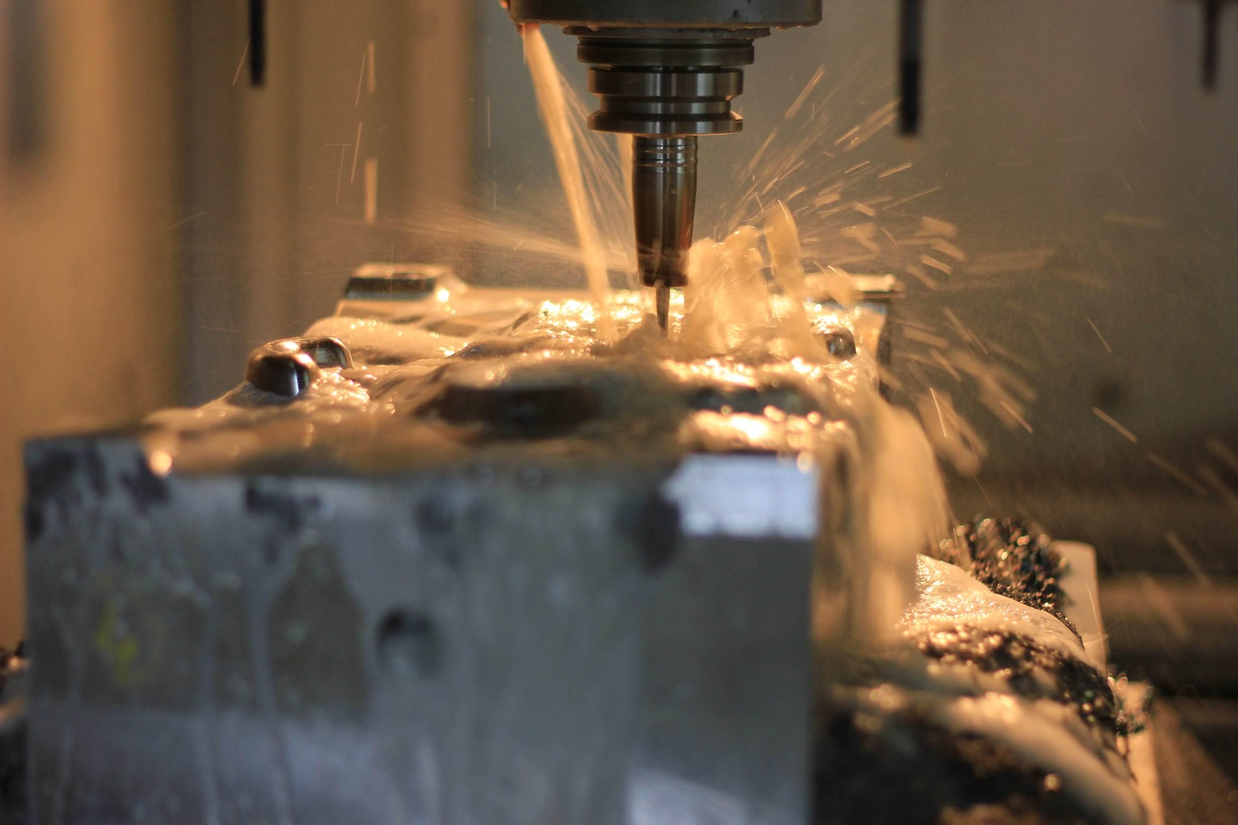Frezowanie CNC - Satis Tech Foto