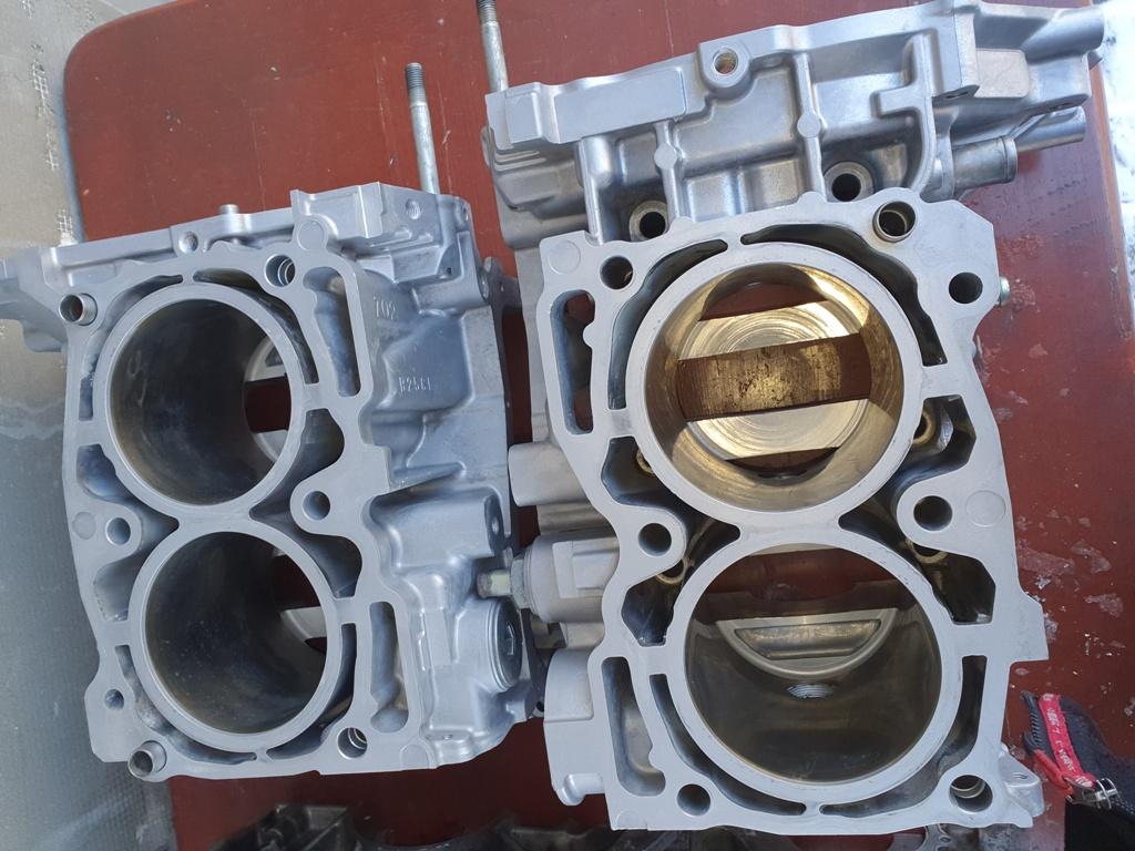 Blok silnika półzamknięty Subaru EJ20 oraz Subaru EJ 25