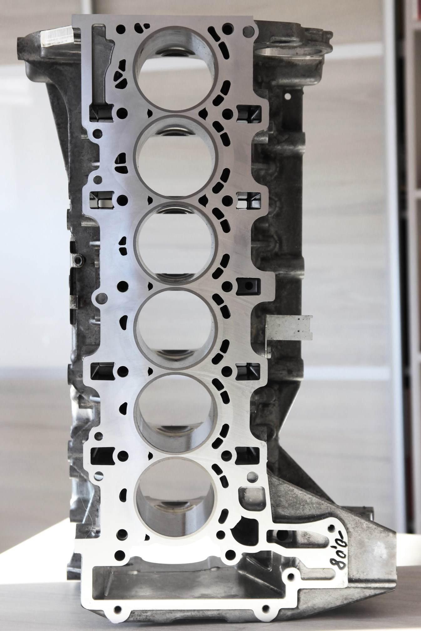 Blok zamknięty silnika BMW N54 E90